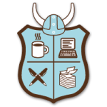Take the NaNoWriMo challenge, and proudly display the Viking crest!