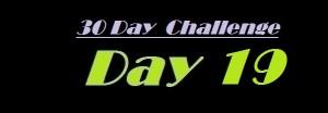 30 day challenge